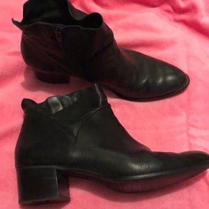 Paul Green black booties